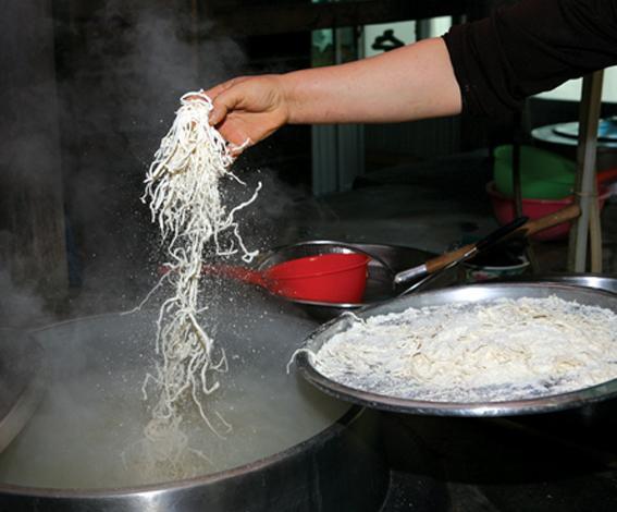 동곡원조할매손칼국수식당