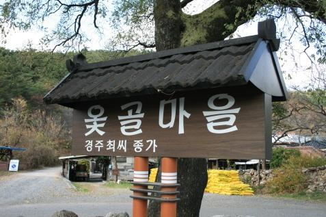 옻골마을(경주최씨 종가)