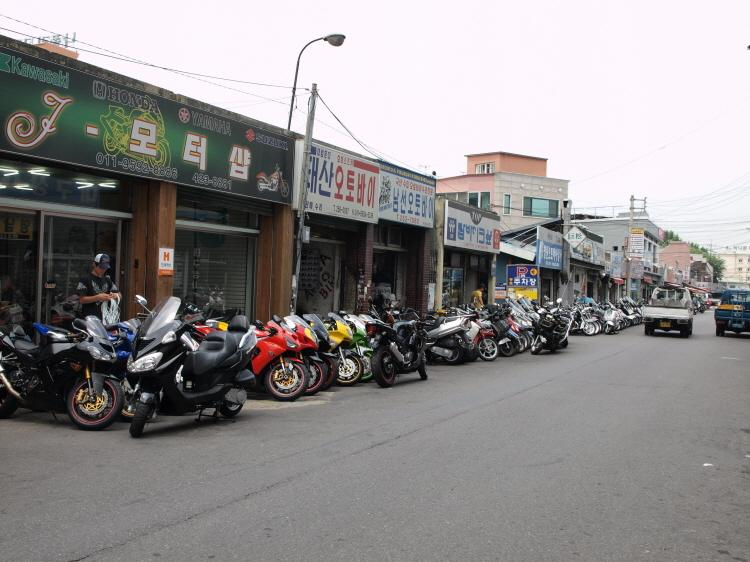 Motorcycle Alley
