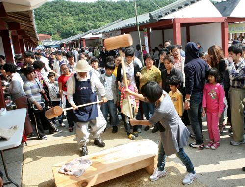 팔공산 산중장터 '승시' 축제