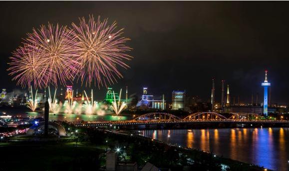 포항국제불빛축제 사진