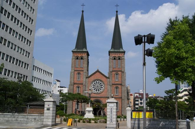 Gyesan Catholic Church