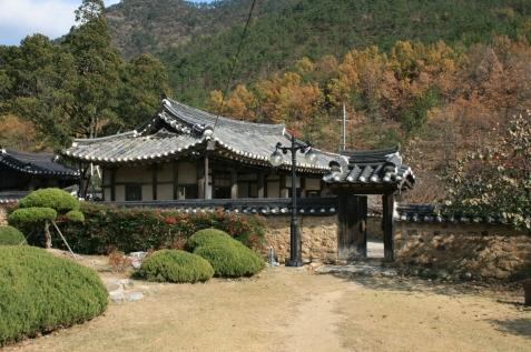 Otgol village (Gyeongju Choi's Head House)