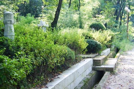 미즈사키 린따로 묘소