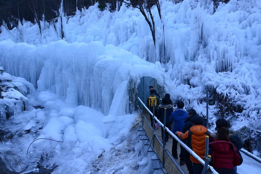 비슬산자연휴양림 얼음동산 축제4