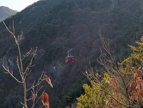 アプ山ケーブルカー