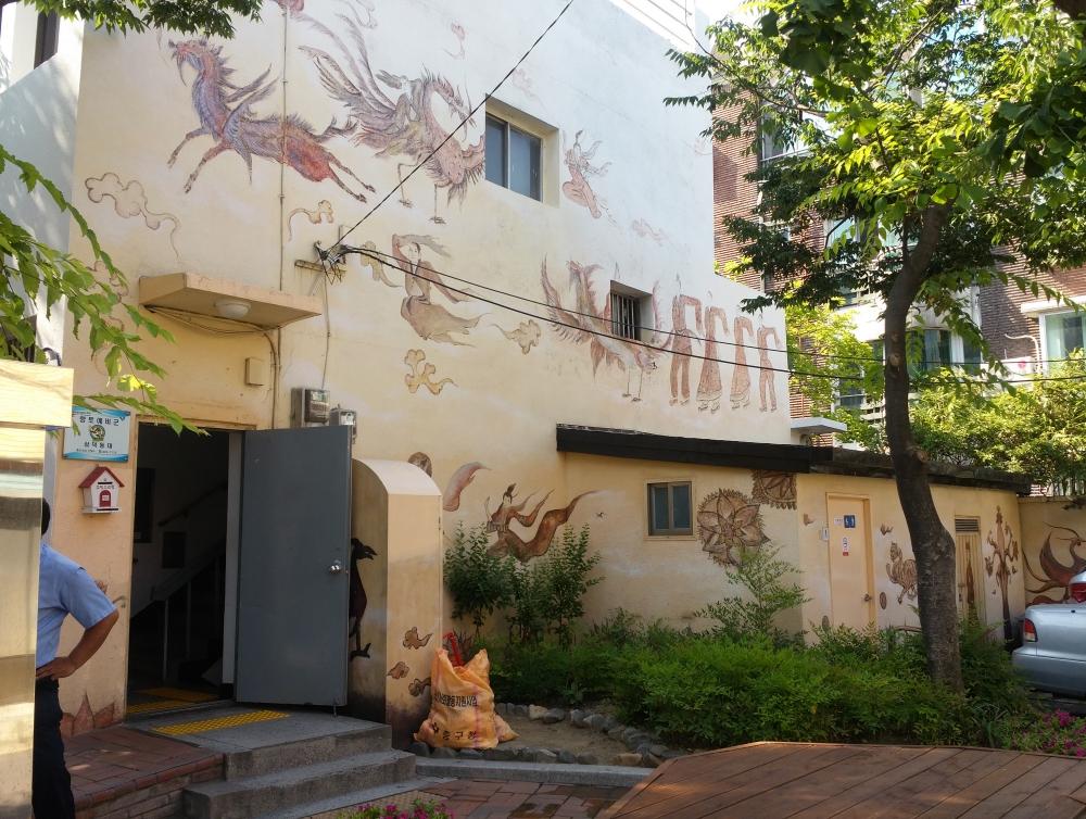 三德洞壁畫小巷