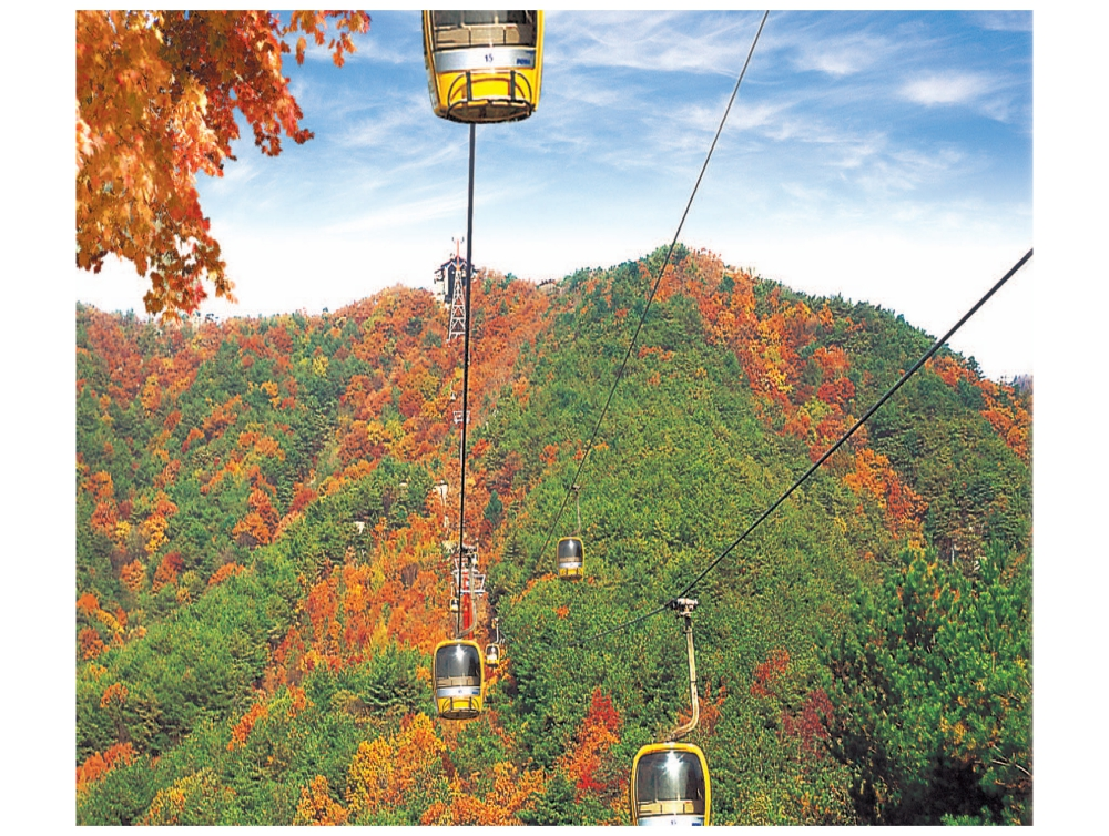 Palgongsan Mountain Cable Car