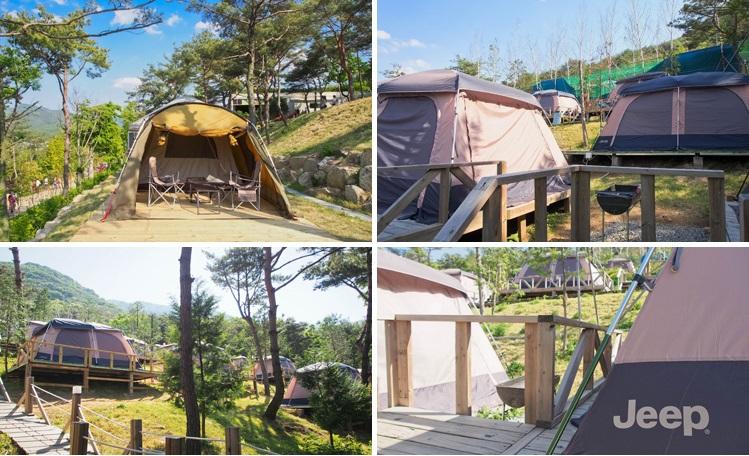 ForRest12 Camp Village