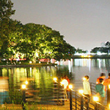 night view(Suseong Lake)