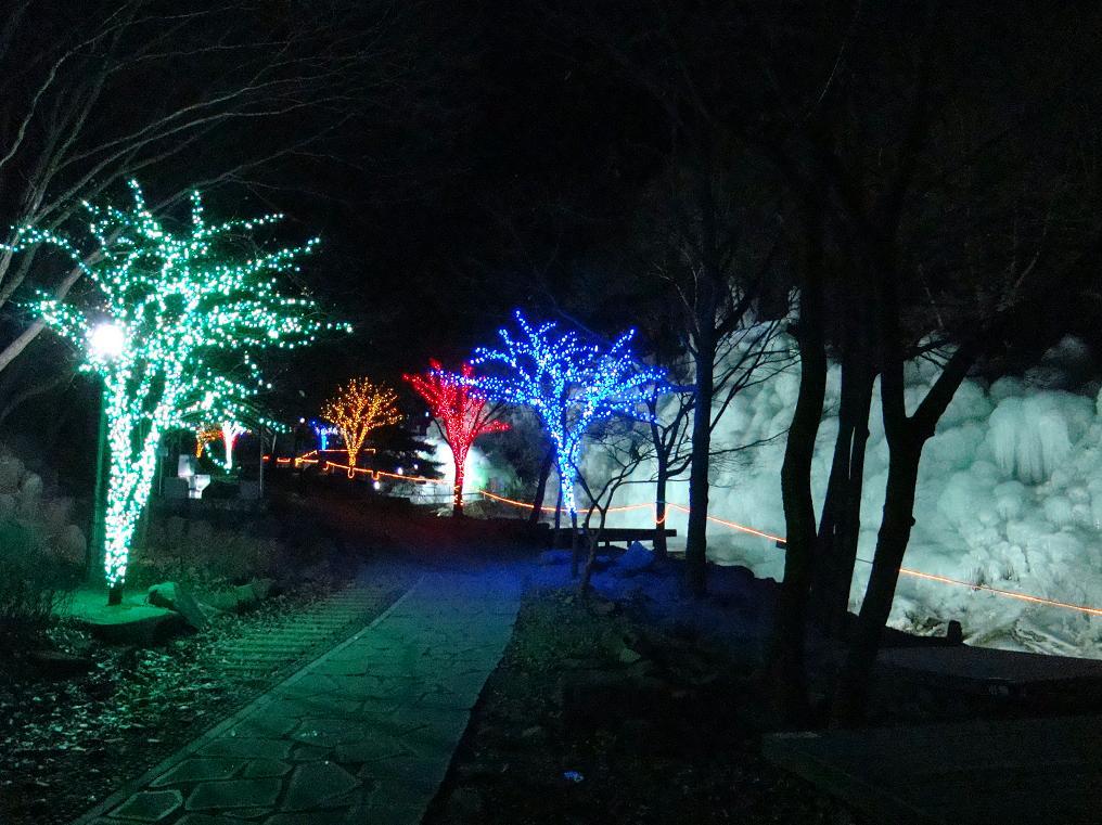 비슬산자연휴양림 얼음동산 축제1