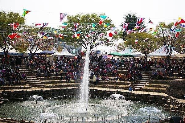 팔공산 벚꽃축제1