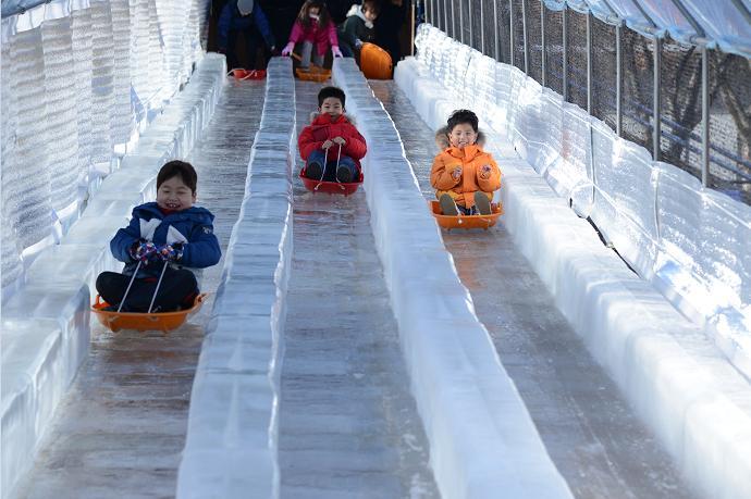 비슬산자연휴양림 얼음동산 축제3
